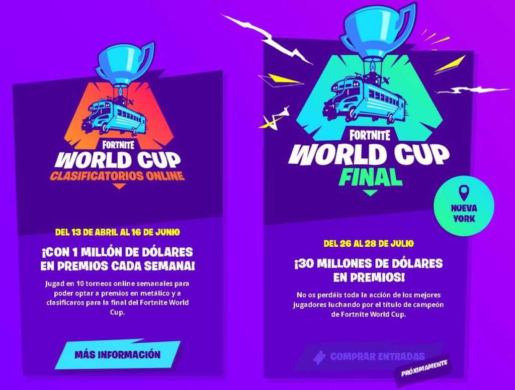 todo sobre fortnite world cup
